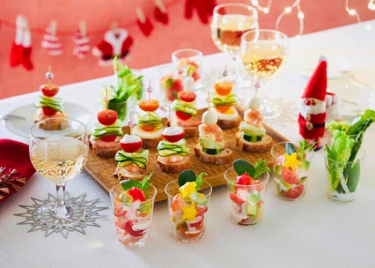 日本食研『ザ・ドレッシング シーザーサラダ』クリスマステーブル